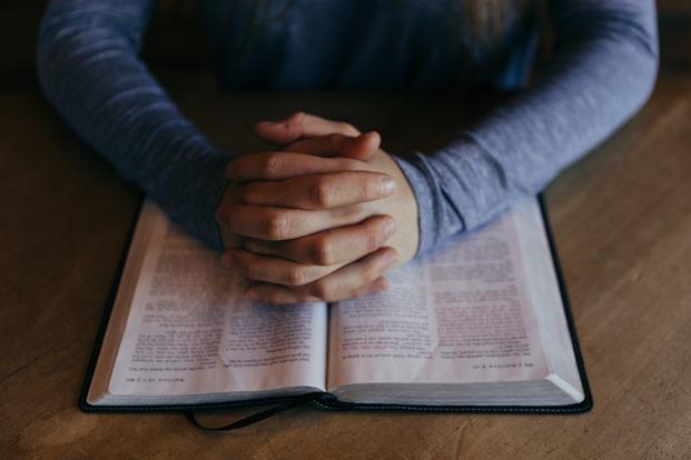 Gebet unsplash