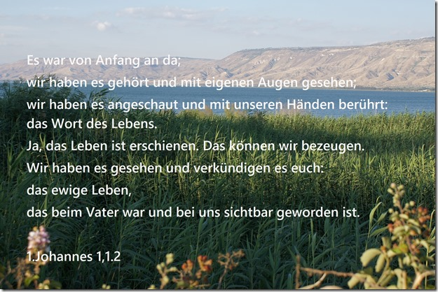 1.Johannes 1,1.2