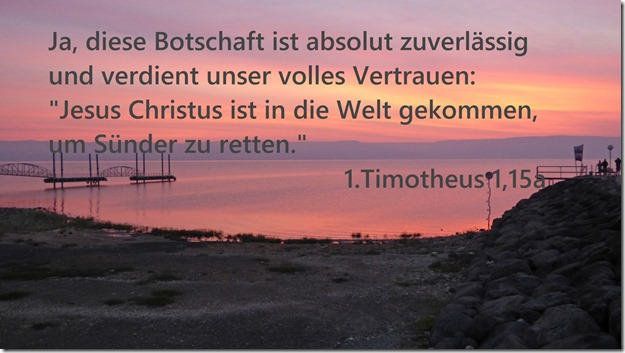 1.Timotheus 1,15