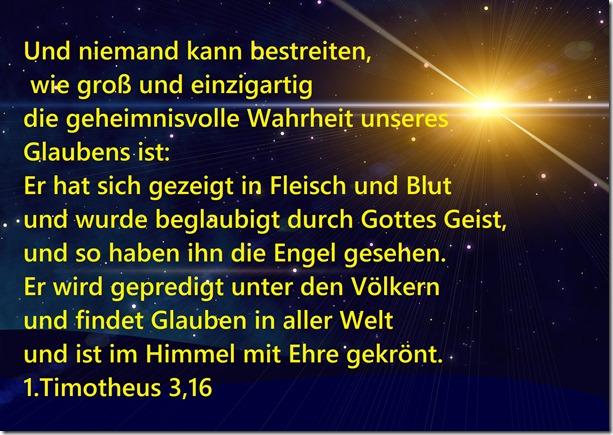 1.Timotheus 3,16