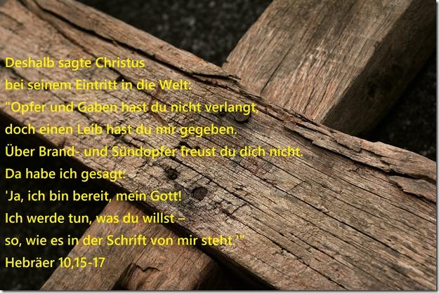 Hebräer 10,15-17