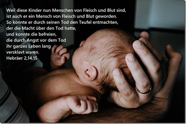 Hebräer 2,14.15