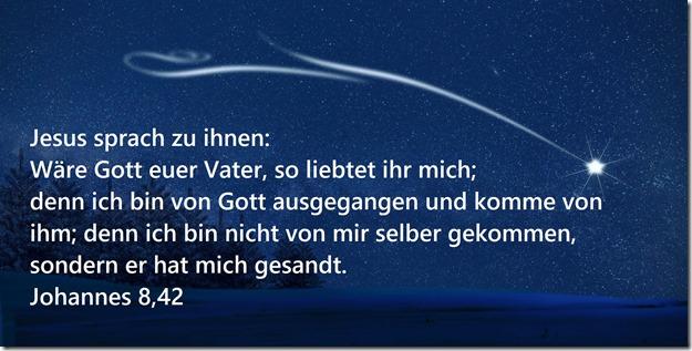 Johannes 8,42
