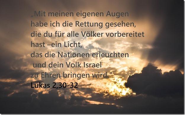 Lukas 2,30-32
