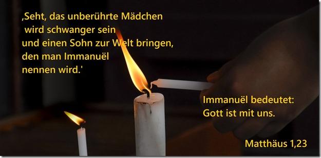 Matthäus 1,23